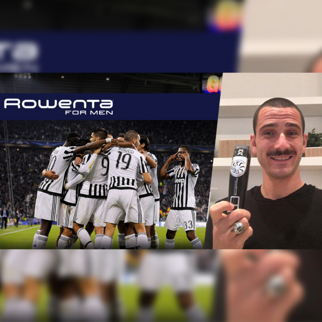 rowenta for man bonucci
